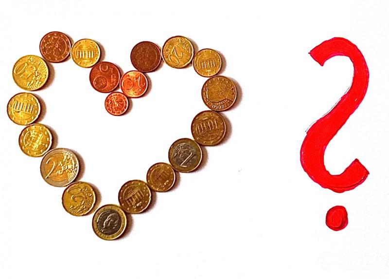 Geld und Herz
