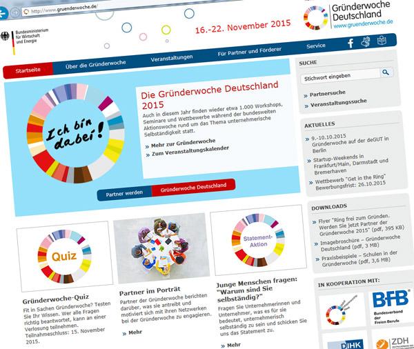 16. und 17.11.2015 Gründerwoche Deutschland – Von Unternehmerinnen für Gründerinnen!