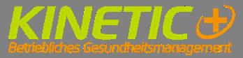 Kinetic+ Wir bewegen Gesundheit Logo