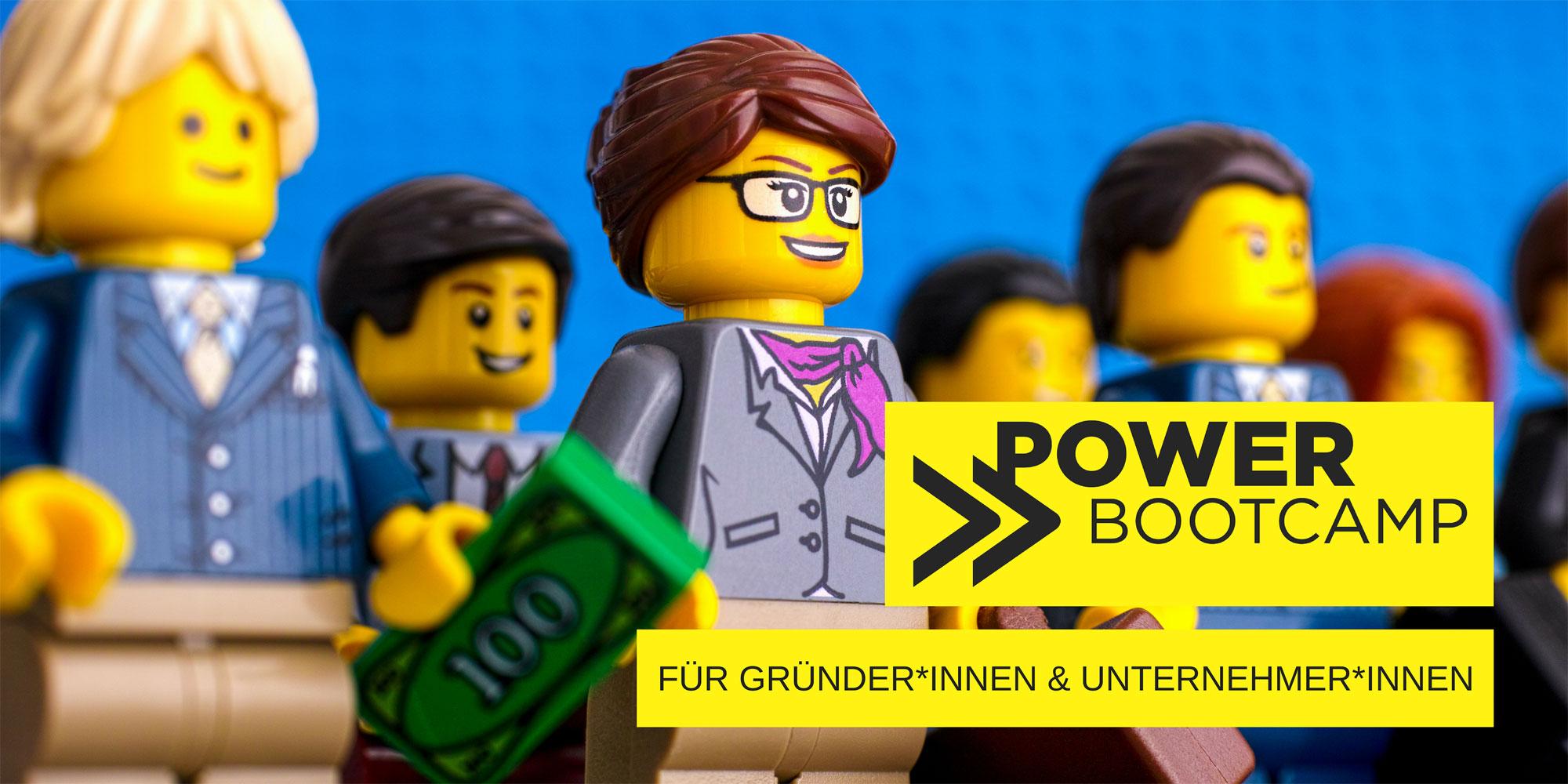 1 Power-Bootcamp – 2Mitgliedsfrauen – 3 Powertage für Deinen unternehmerischen Erfolg