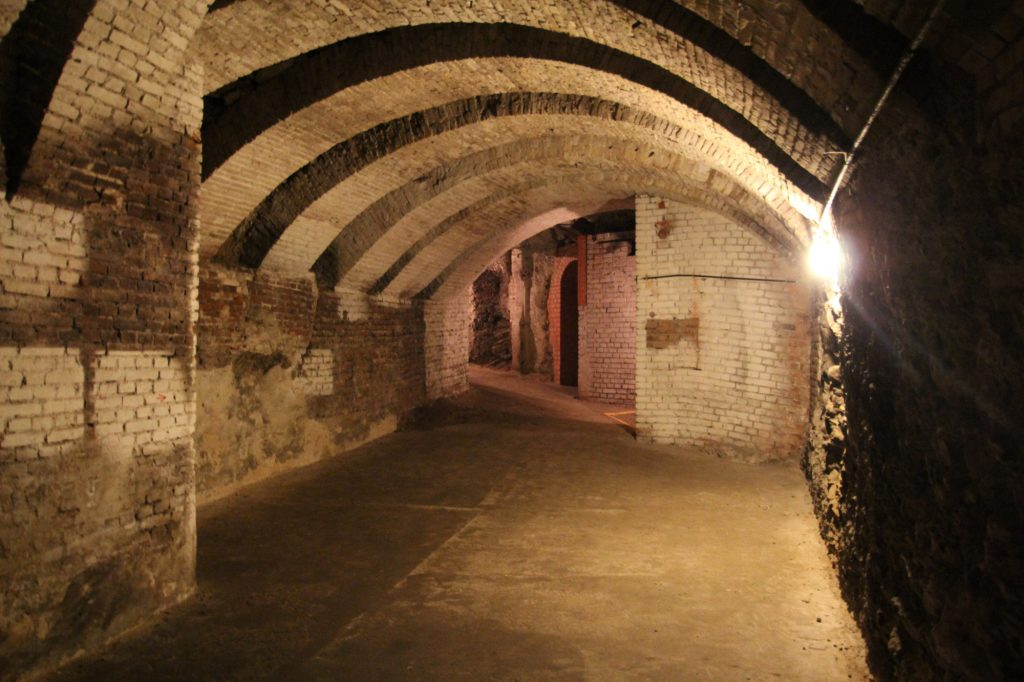 Bunker am Weinberg, Kassel, grosser Stollen